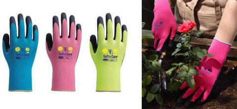 耐水性があり汚れを防止し、紫外線もカットするガーデニング用手袋