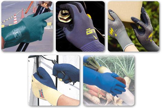 用途毎の手袋